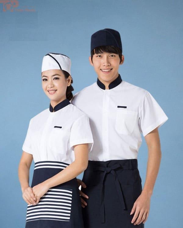 đồng phục bếp nam nữ cao cấp