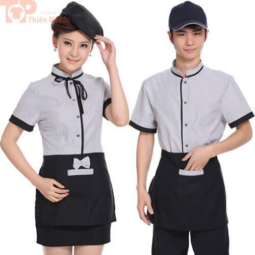 đồng phục bếp nhà hàng đẹp