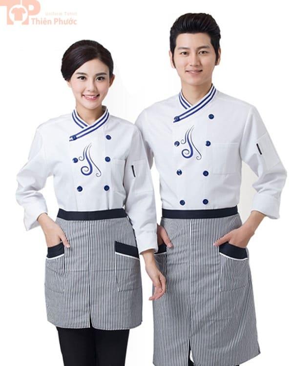 đồng phục bếp nhà hàng may sẵn