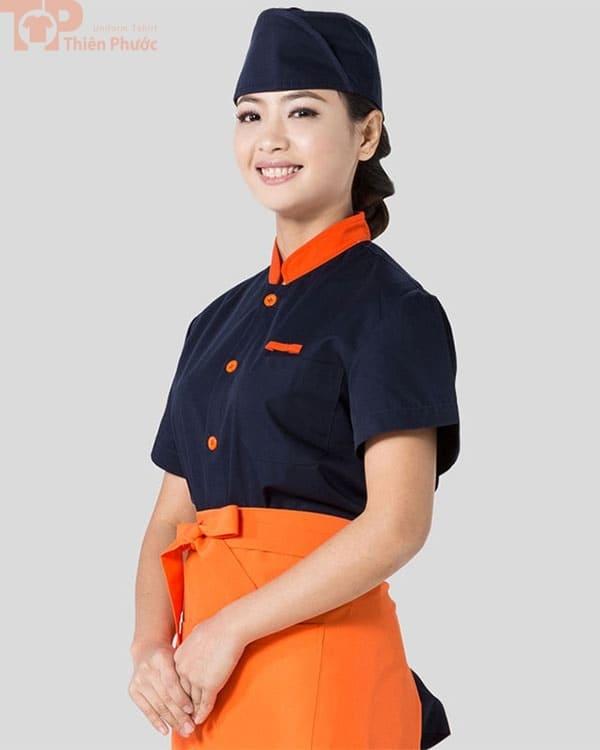 đồng phục bếp nữ đẹp