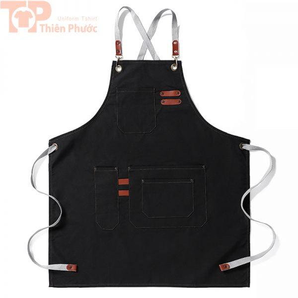 Đồng phục bếp phối tạp dề đa năng