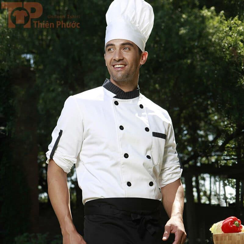 đồng phục bếp trưởng