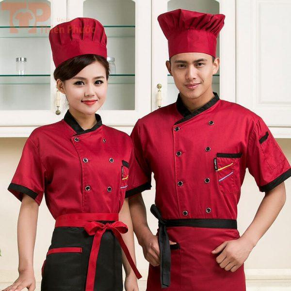 đồng phục bếp unisex