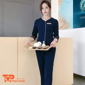 đồng phục bưng bê khách sạn waitress