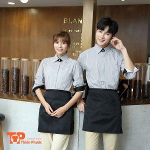 đồng phục bưng bê quán ăn nhà hàng khách sạn