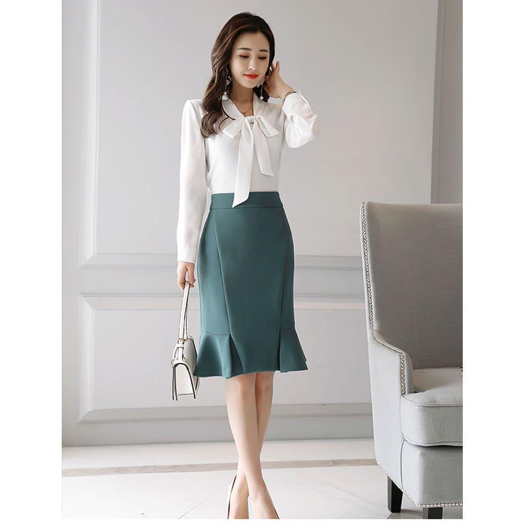 đồng phục chân váy văn phòng công sở nữ