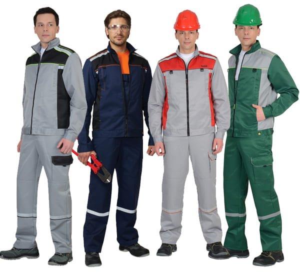 đồng phục công nhân cơ khí nhiều màu có mũ