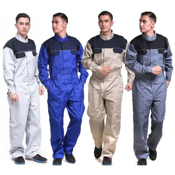 đồng phục công nhân điện lực 4 màu