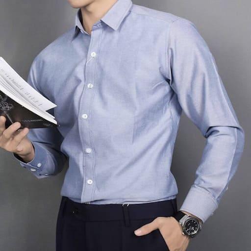 đồng phục công sở nam áo sơ mi dài tay