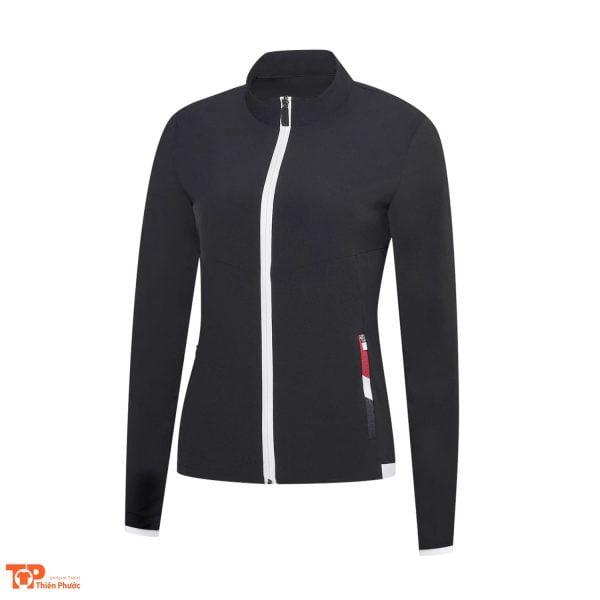 đồng phục công ty áo khoác nữ màu đen