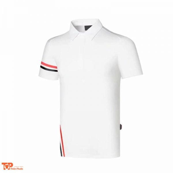 đồng phục công ty áo nam tay ngắn màu trắng