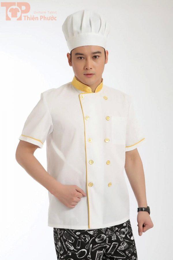 Đồng phục đầu bếp cho nam