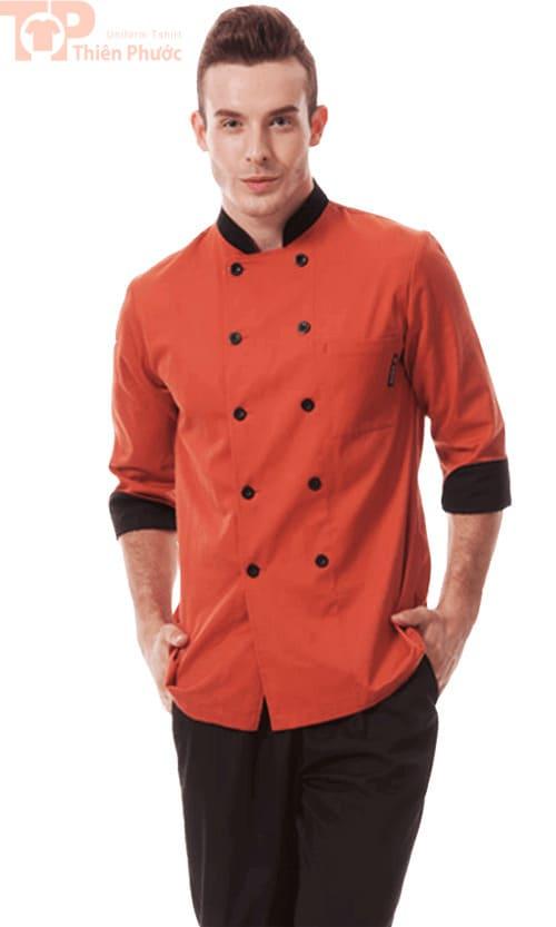 Đồng phục đầu bếp cho nam đẹp