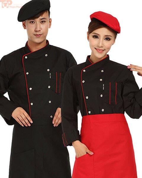 Đồng phục đầu bếp đẹp cho nam nữ