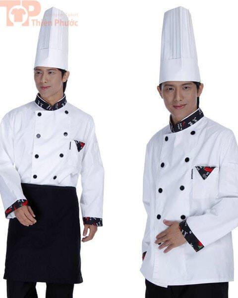 Đồng phục đầu bếp trưởng
