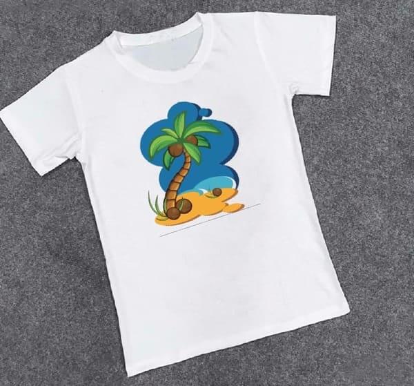 đồng phục đi biển cây dừa