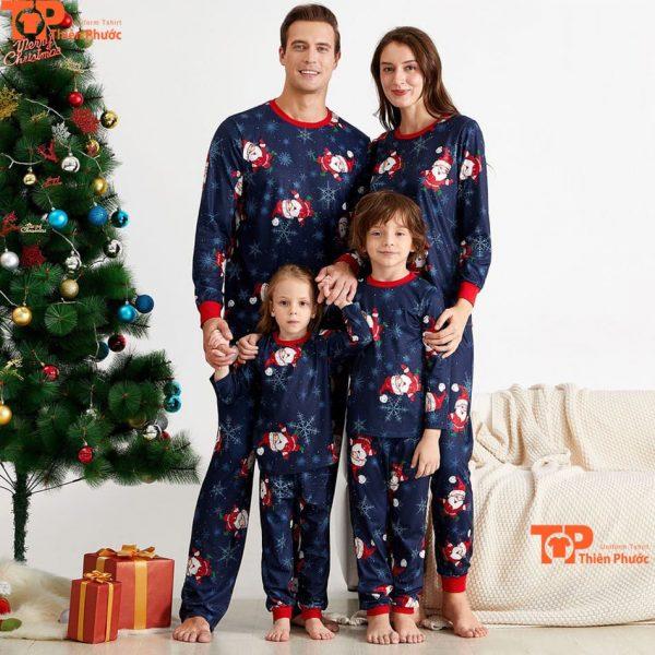 đồng phục gia đình noel giáng sinh