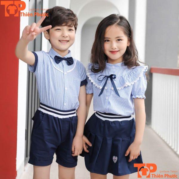 đồng phục học sinh mầm non mẫu giáo