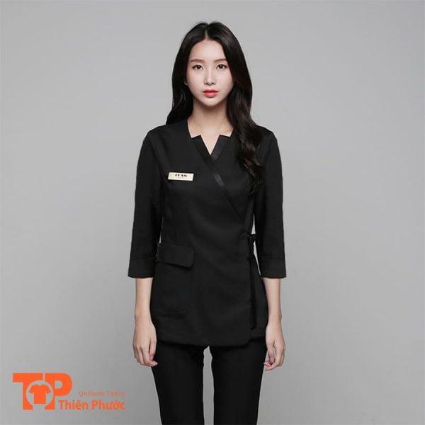 đồng phục khách sạn phục vụ nữ