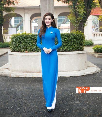 đồng phục lễ tân áo dài khách sạn nhà hàng