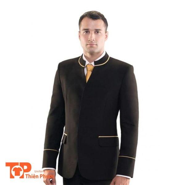 đồng phục lễ tân khách sạn nam