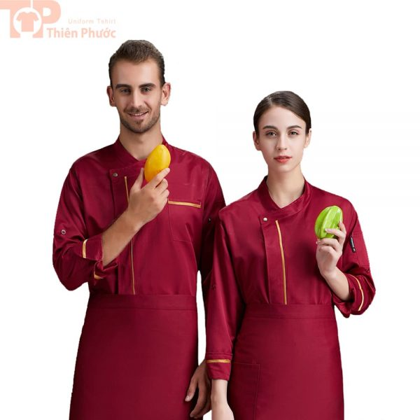 Đồng phục nhà bếp cho nam nữ