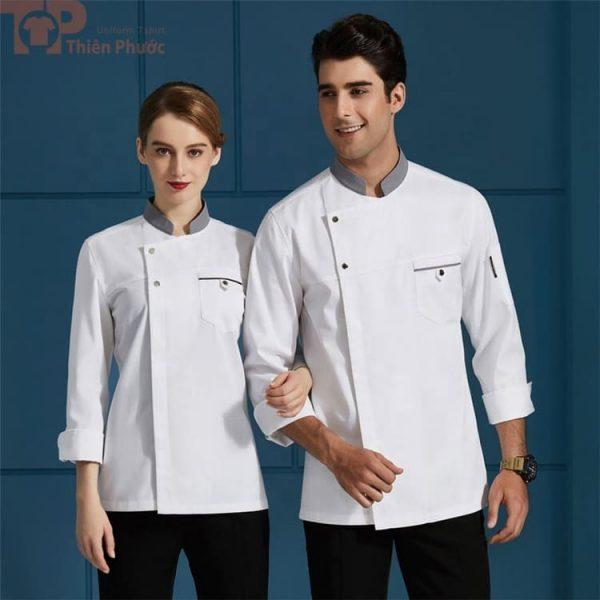 Đồng phục nhà bếp cho nam nữ đơn giản