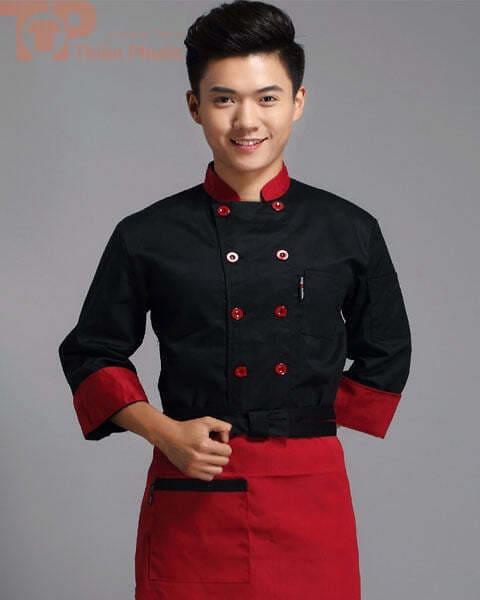 Đồng phục nhà bếp cho nam