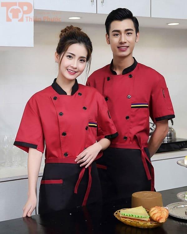 Đồng phục nhà bếp dành cho nam nữ