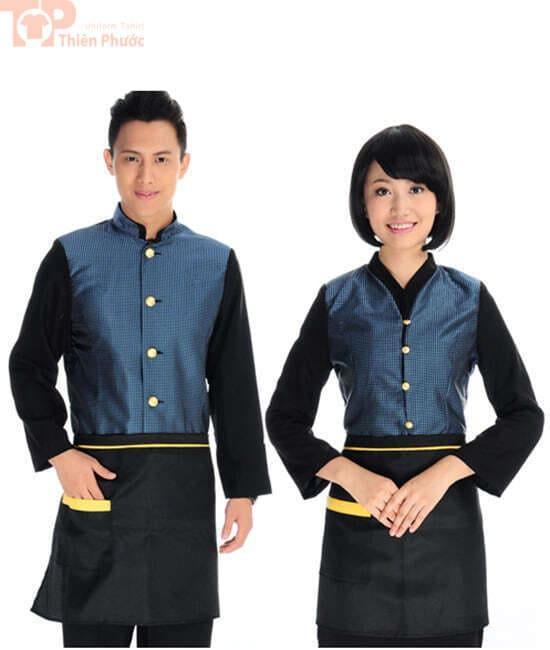 đồng phục nhà bếp nam nữ