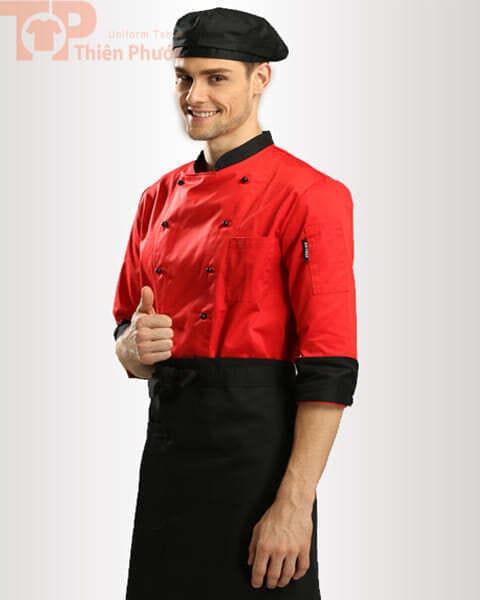 Đồng phục nhà bếp nam