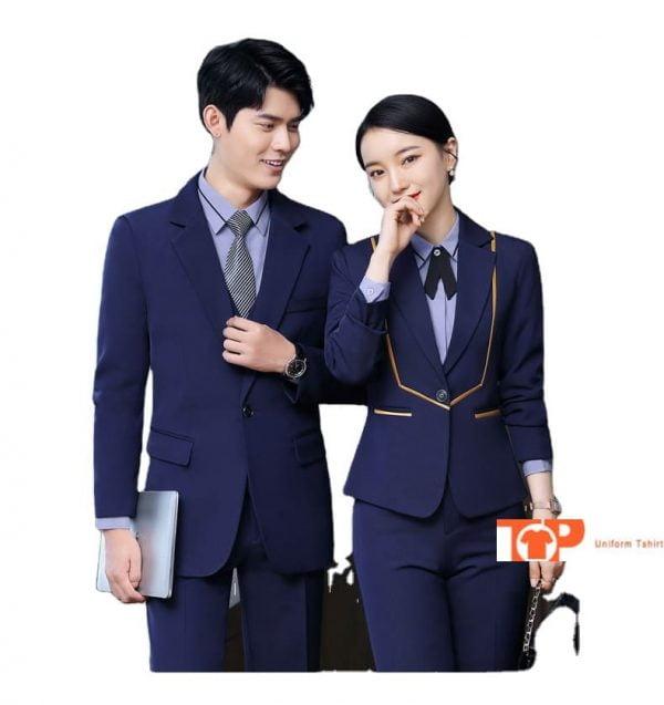 đồng phục nhà hàng khách sạn quản lý nam nữ