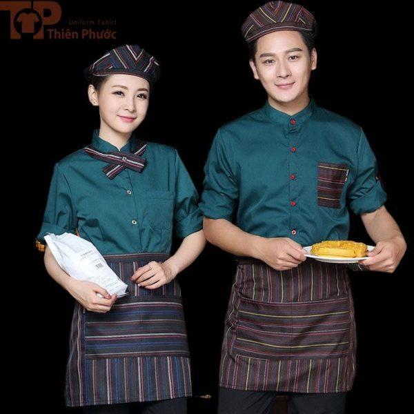 đồng phục nhân viên phục vụ bếp đẹp