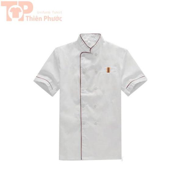 đồng phục phụ bếp tay ngắn