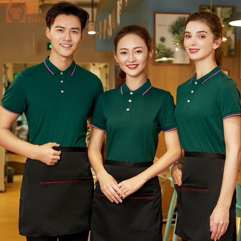 Đồng phục phục vụ bếp đẹp