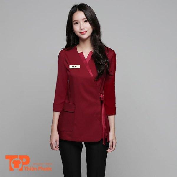 đồng phục phục vụ khách sạn cho nữ