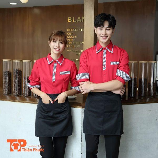 đồng phục quán cafe chuyên nghiệp