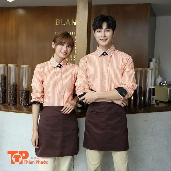 áo đồng phục quán cafe