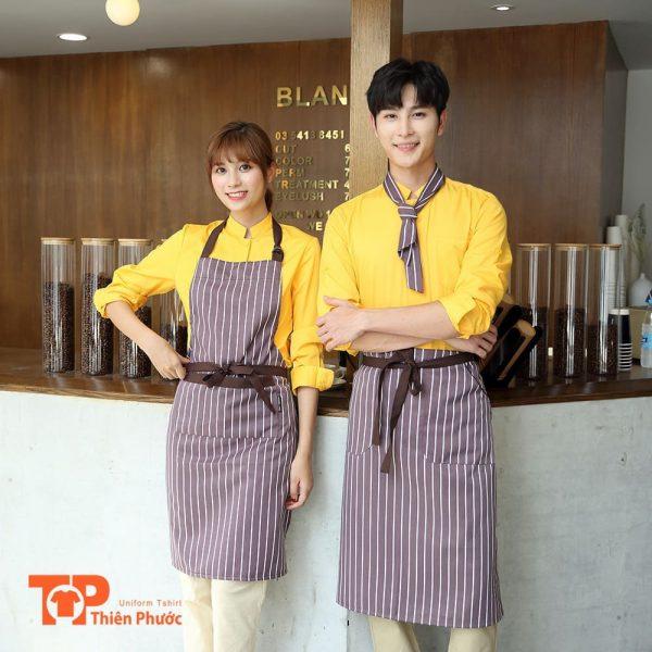 đồng phục quán coffee cafe