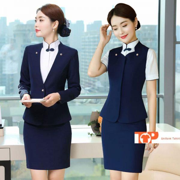 đồng phục quản lý nhà hàng khách sạn cho nữ
