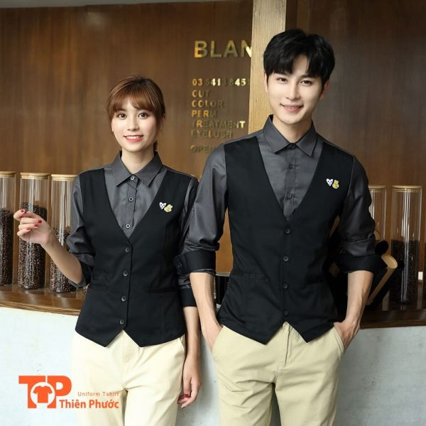 đồng phục quán nước cafe
