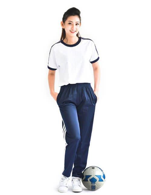 đồng phục thể dục thể thao học sinh trung học