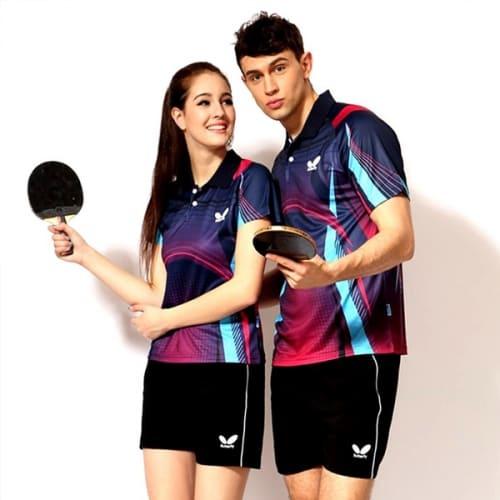 đồng phục thể thao bóng bàn nữ nam