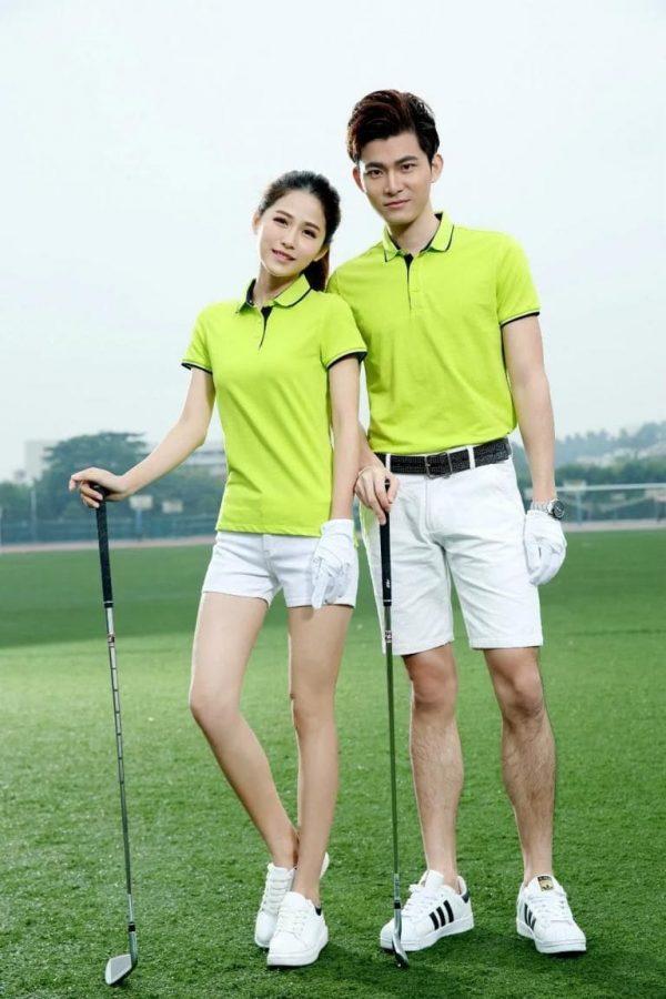 đồng phục thể thao đánh golf trẻ trung