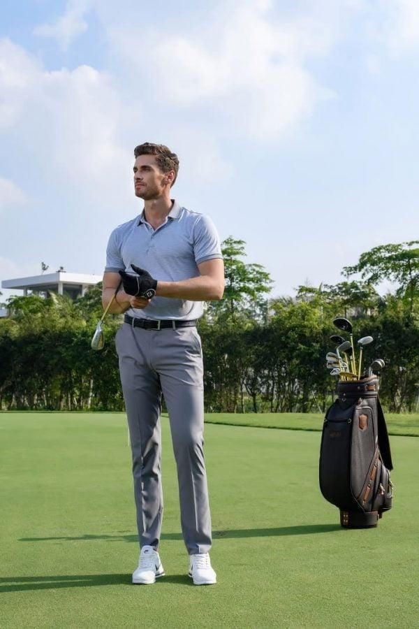 đồng phục thể thao nam đánh golf