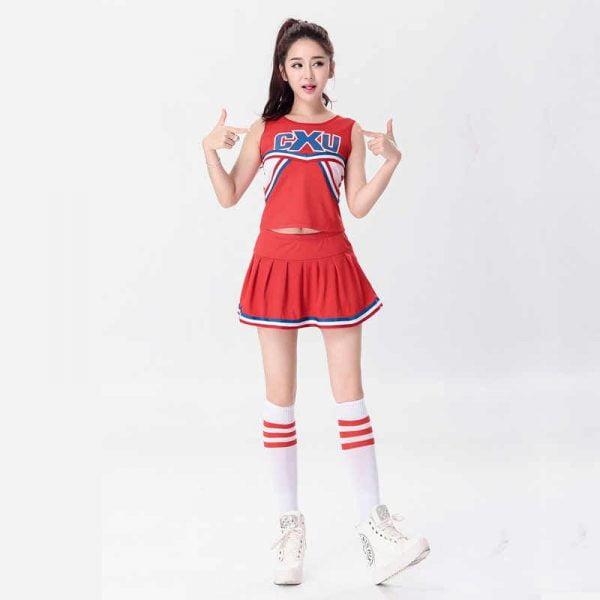 đồng phục thể thao nữ cổ vũ