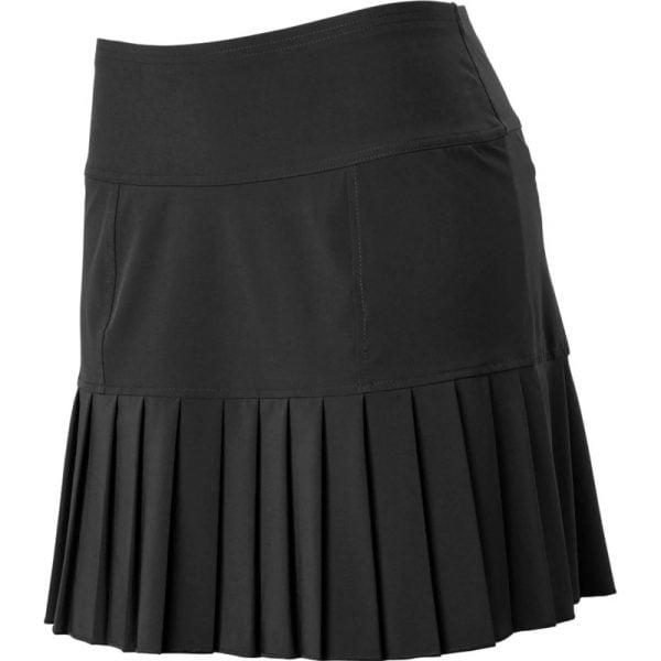 đồng phục thể thao váy xếp li màu đen