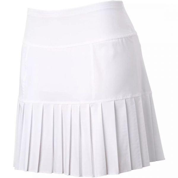đồng phục thể thao váy xếp li màu trắng