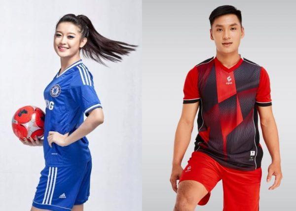 đồng phục thể thao đá banh nam nữ