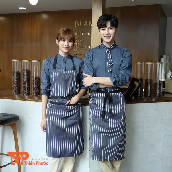 đồng phục tiệm cafe coffee trà sữa